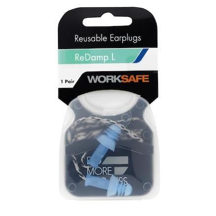Hörselpropp Worksafe ReDamp L m snöre