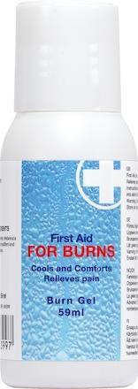 Brännskadegel i flaska FOR BURNS 94399