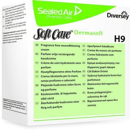System hudkräm Soft Care Dermasoft H9 refill