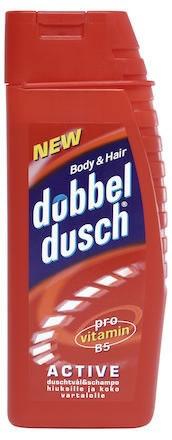 Duschtvål Dubbeldusch Active