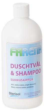 Duschtvål Farena mild schampo