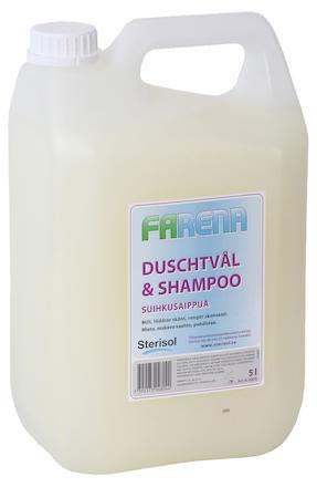 Duschtvål Farena tvål & schampo