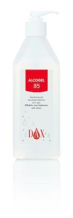 Handdesinfektion Dax Alcogel 85 med pump
