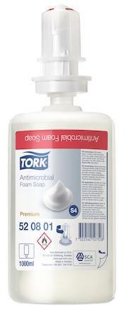 Skumtvål Tork Premium Antimikrobiell S4