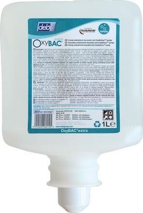 Skumtvål Deb OxyBac Extra