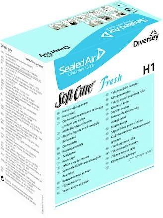 Systemtvål Soft Care fresh H1 refill