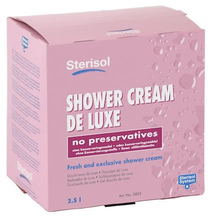 Tvål Sterisol Shower Cream de Luxe