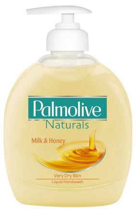 Tvål med pump Palmolive Milk & Honey