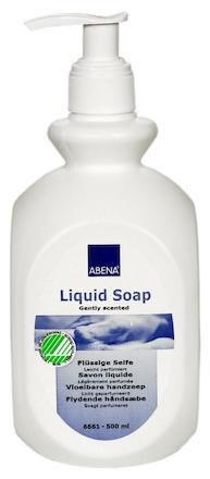 Tvål med pump Skincare parfymerad