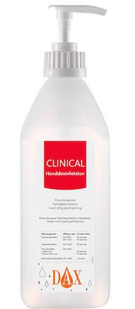 Handdesinfektion 75% DAX Clinical med Pump