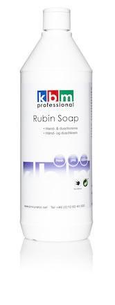 Tvål KBM Rubin Soap Milt Parfymerad fresh 1L