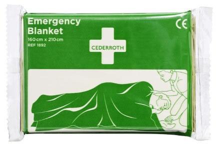 Räddningsfilt Cederroth 1892