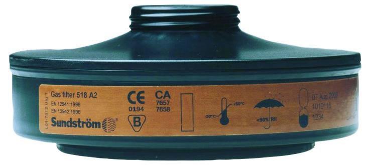 Gasfilter SR 518 A2