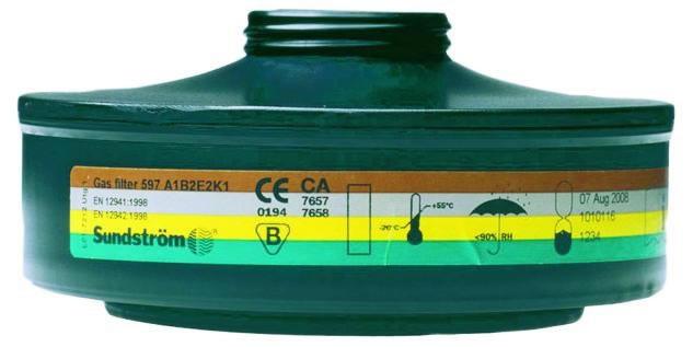 Gasfilter SR 597 A1B2E2K1