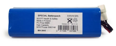 Batteri NiMH 9,6/4,5Ah 064043 extra kraftigt t Proflow SC
