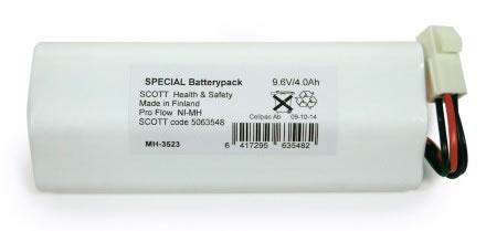 Batteri NiMH 9,6V/3,8Ah 063790 t Proflow SC