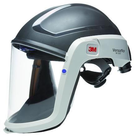 Visir M-307 med skyddshjälm & flamskyddad ansiktstätning