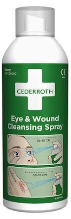 Ögon- och sårtvättsspray Cederroths 726000