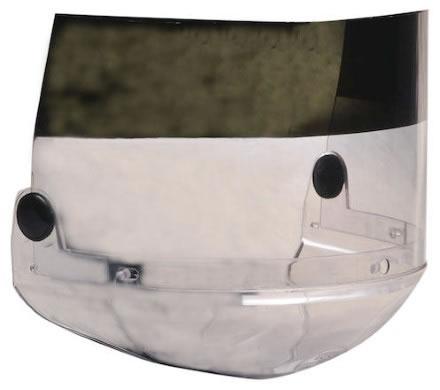 Thermoguard-visir FL4087TCG/P5 deltonat färg 5/klart. Med