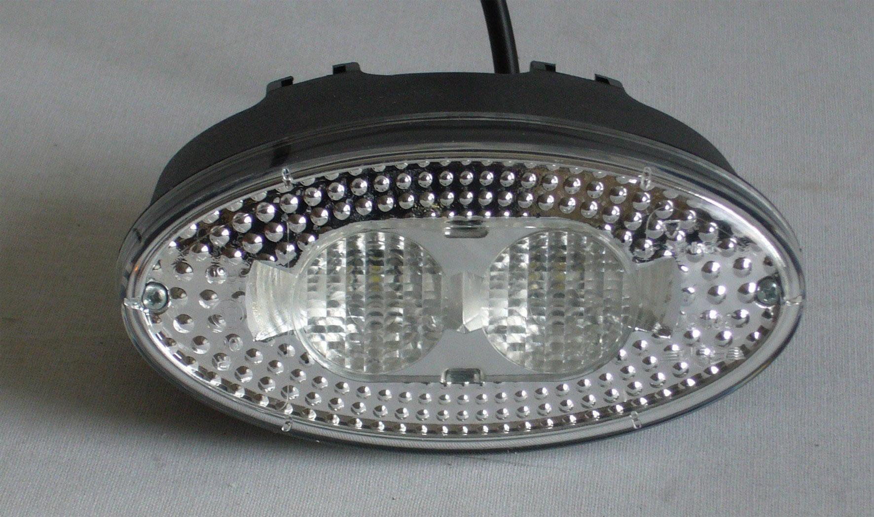 BACKLJUS LED VIT 12-24V