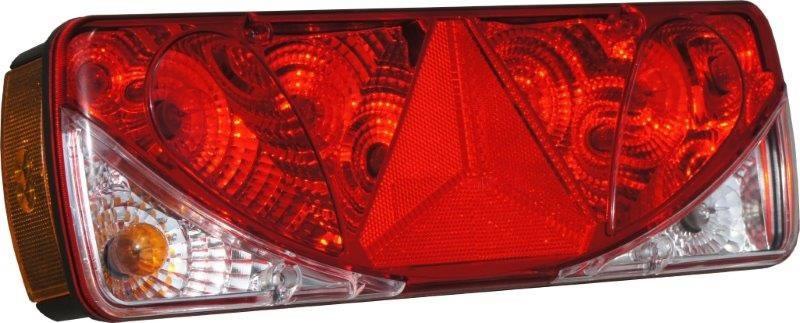Baklykta Vänster 428x140x87 5-funktions inkl. LED