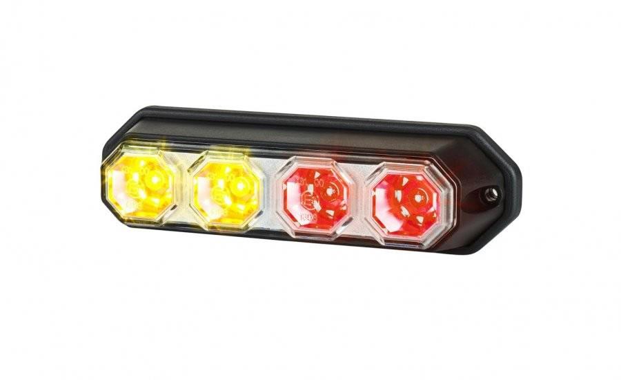 Baklykta LED Blink, broms & bakljus 147*42 mm.