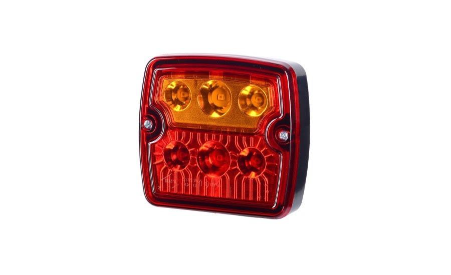 Baklykta LED Blink-Broms-Bakljus 12/24V 1 m kabel.