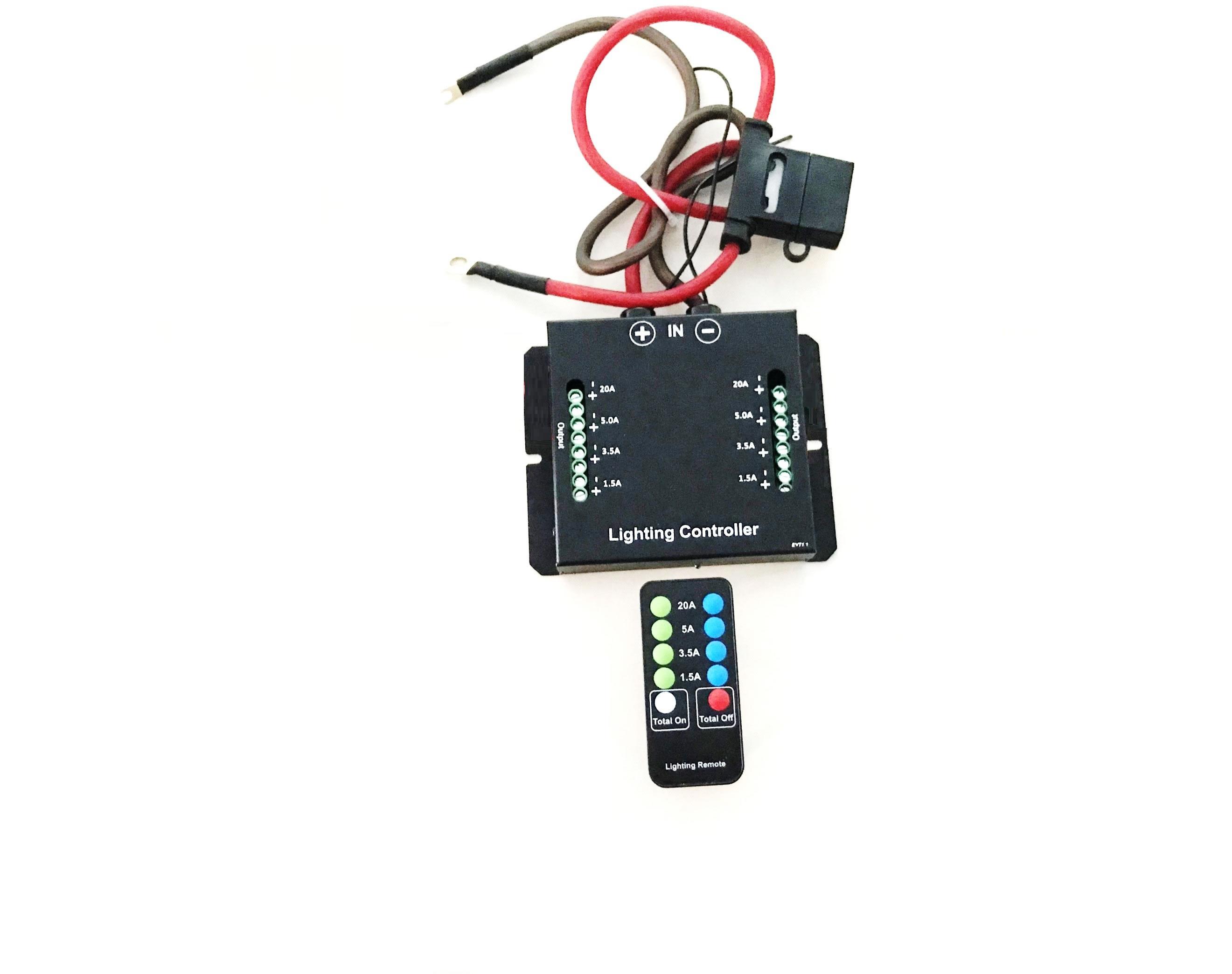 Fjärrstyrd LED kopplingsbox