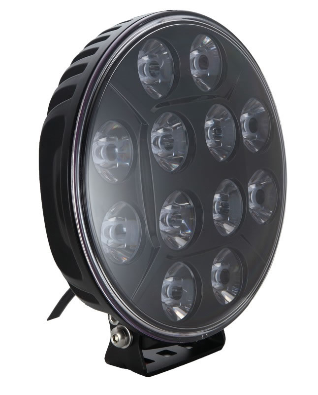 "LED Extraljus 9"" 120W E-godkänd"