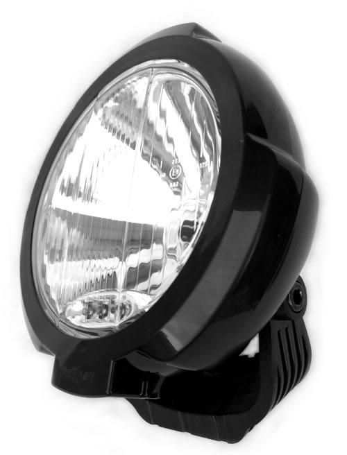 Extraljus SIM Svart med LED Pos. ljus. 180 mm.