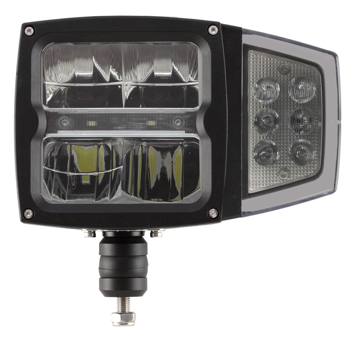 LED Huvudstrålkastare/Ploglampa med blinkers