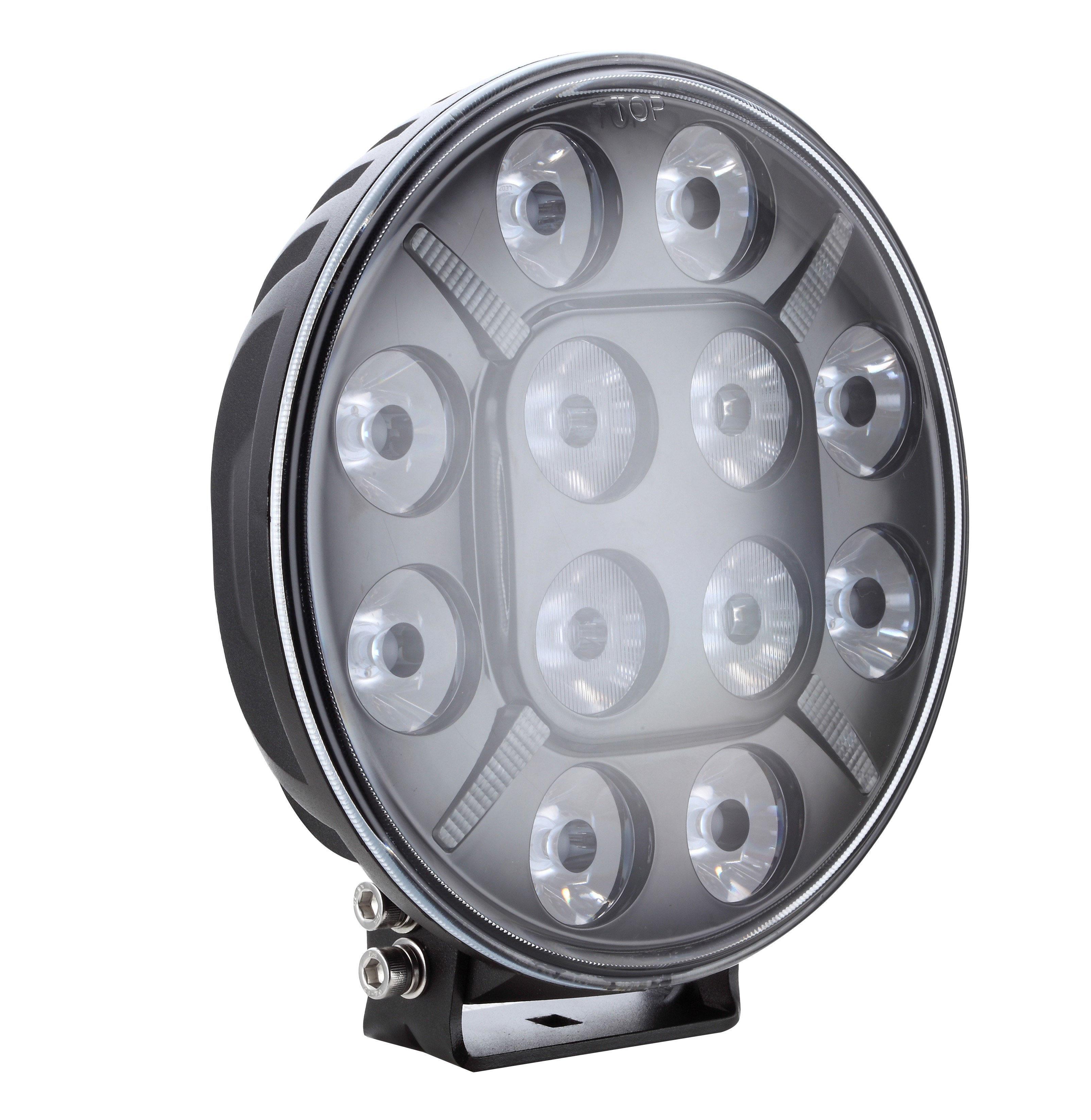 "LED Extraljus 7"" 60W Parkeringsljus E-godkänd"