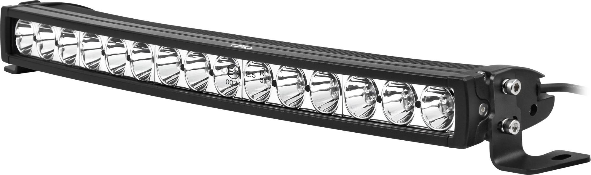 LED ramp 15x5 W=75W CURVED