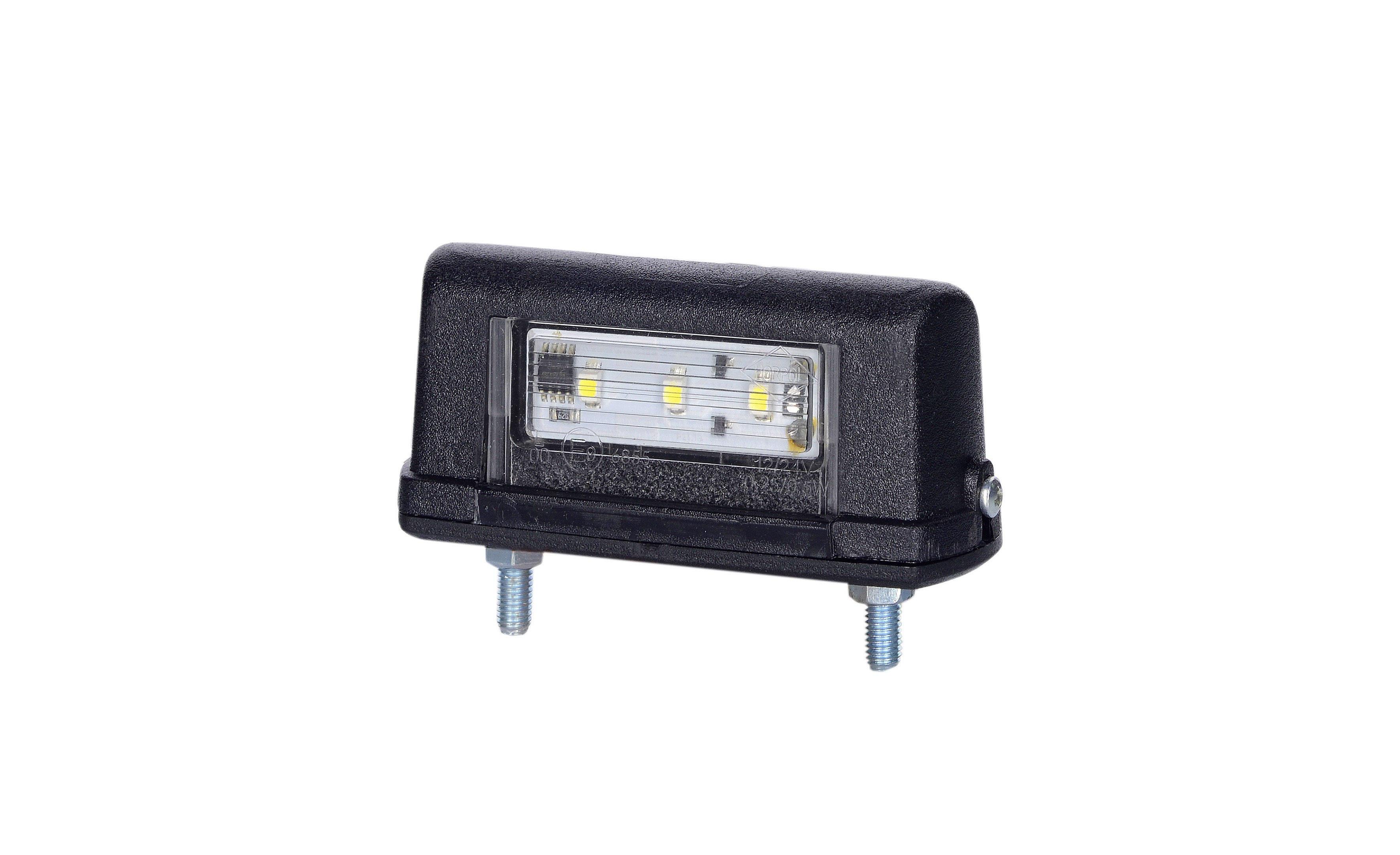 Nummerskyltsbelysning LED 12/24V 0,5 m kabel