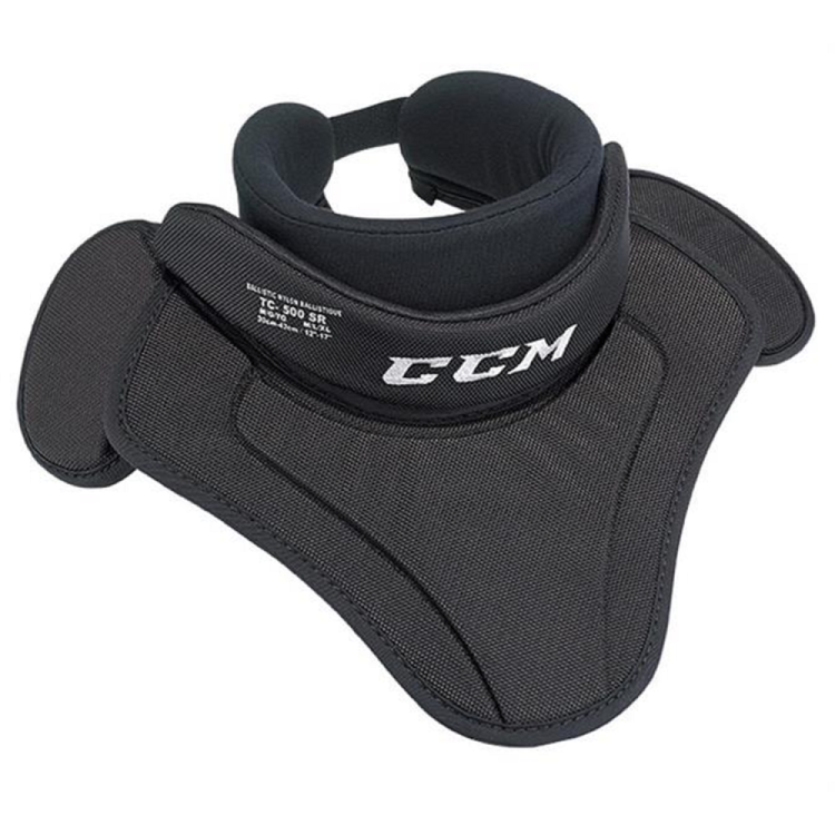 CCM BNQ 500 goalie throat collar