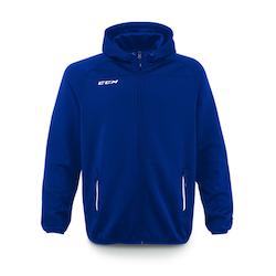 CCM locker room full zip hood