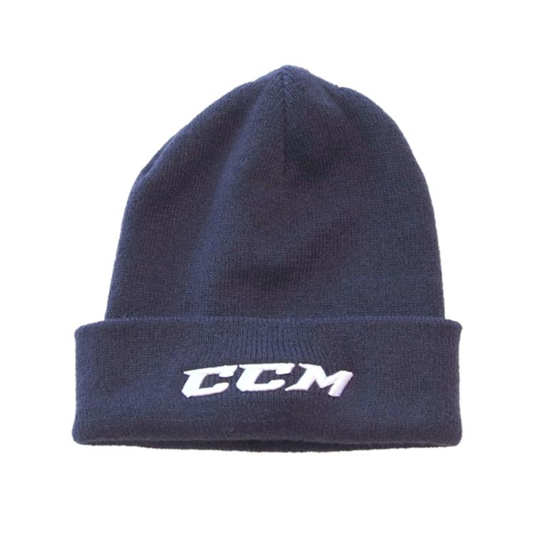 CCM team knit beanie