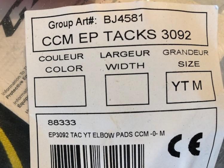 CCM Tacks 3092 armbågsskydd Yth