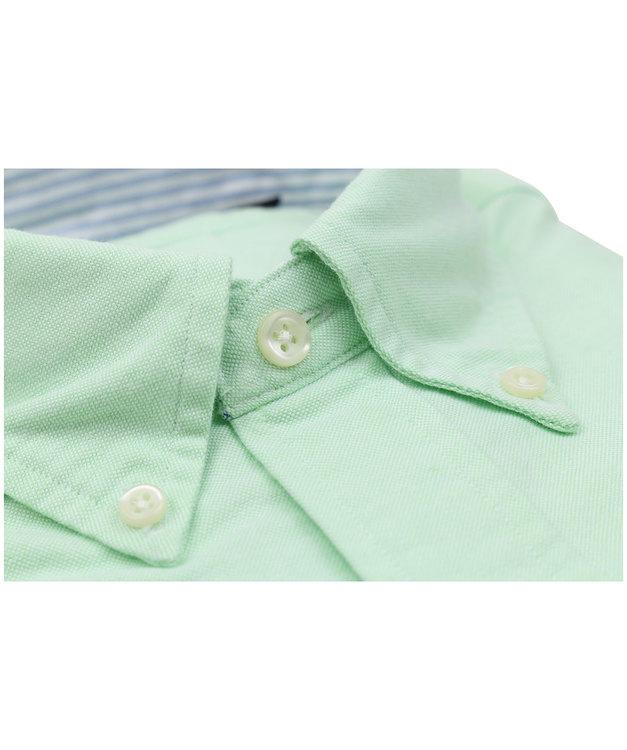 POLO RALPH LAUREN - Slim Fit Long Sleeve Sport Shirt Lime