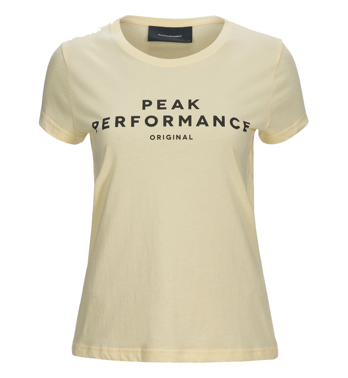 PEAK PERFORMANCE - W Logo SS Gul