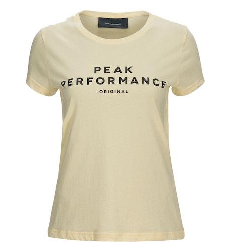 PEAK PERFORMANCE - W Logo SS Gul