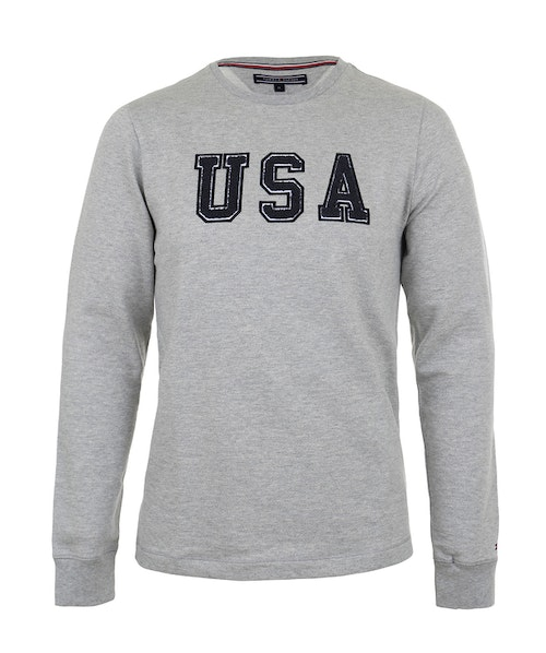 TOMMY HILFIGER - Harry Sweatshirt Grå