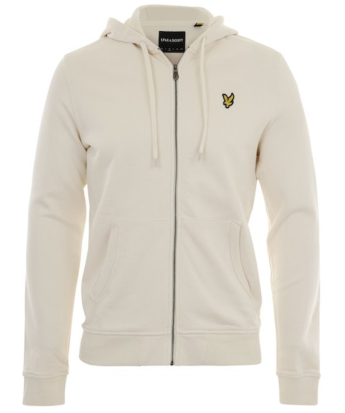 LYLE & SCOTT - Zip Through Hoodie Vit