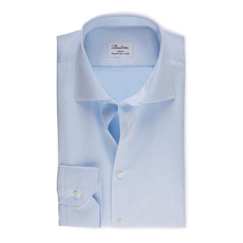 STENSTRÖMS - Slimline Twill Shirt Blå