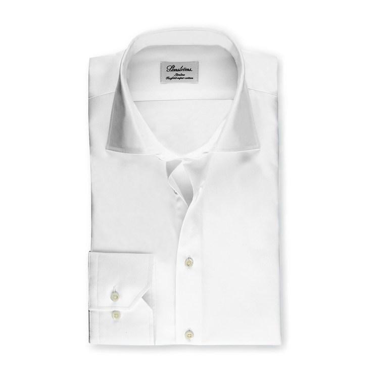 STENSTRÖMS - Slimline Shirt Vit