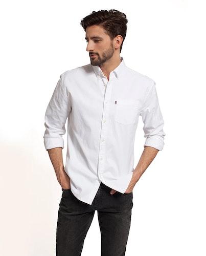 LEXINGTON - Kyle Oxford Shirt Vit