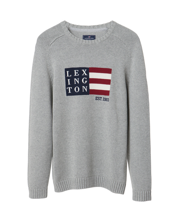 LEXINGTON - Dylan Sweater Grå