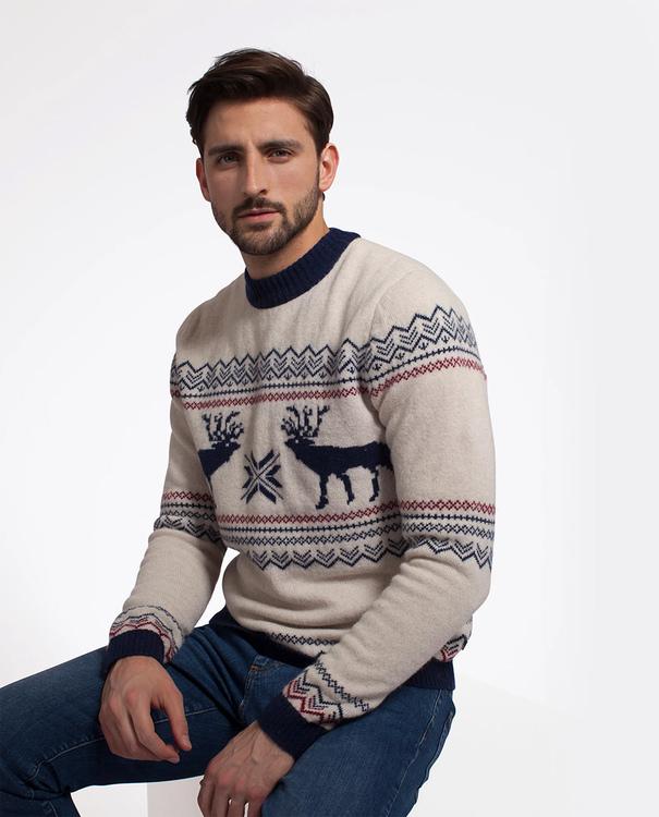 LEXINGTON - Jim Holiday Sweater Vit