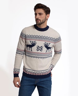 LEXINGTON - Jim Holiday Sweater Vit