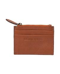 LEXINGTON - Cove Leather Card Holder Brun